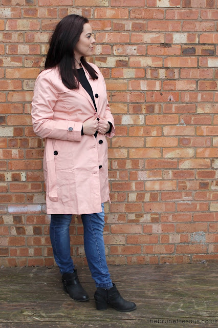 ootd, trench coat, mac, coat, spring, damart