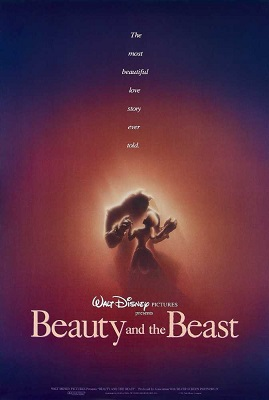 Beauty and the Beast (1991) BDRip x264 Hindi Dubbed 300MB