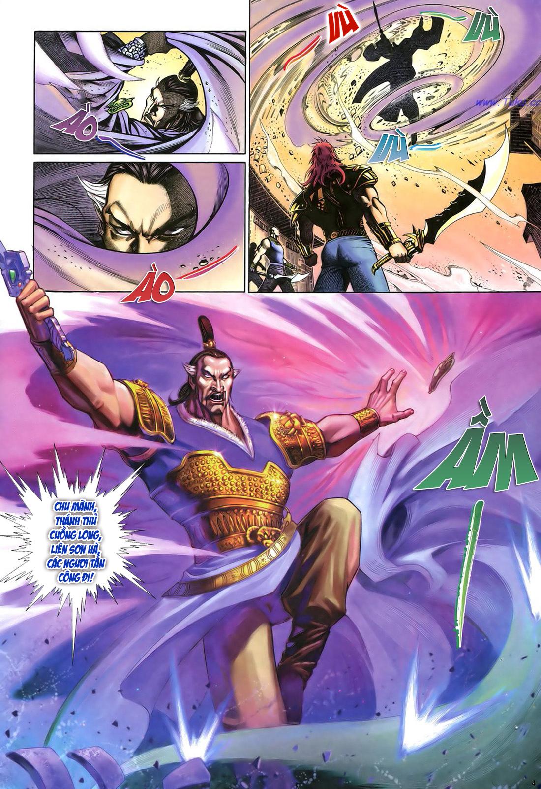Anh hùng vô lệ Chap 22 trang 5
