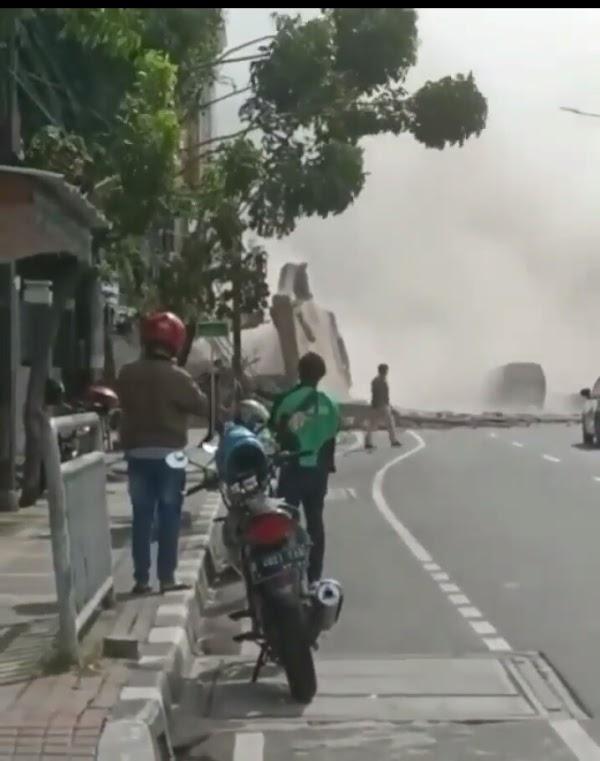Ada Gedung Roboh di Gambir, Polisi Beberkan Penyebab