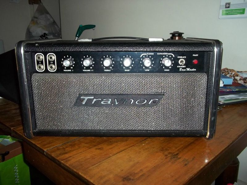 With vintage traynor amplifiers all