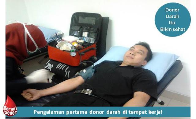 Pengalaman Pertama Donor Darah - Blog Mas Hendra