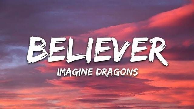 Lyrics For Believer - Imagine Dragons