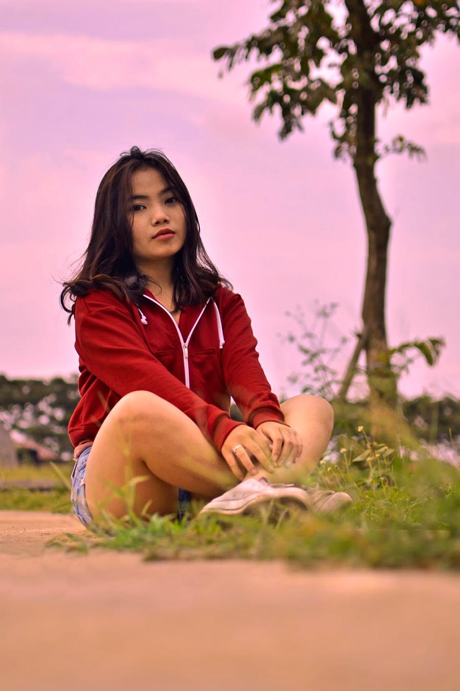 foto model IGO Sella ABG Malang manid anseksi