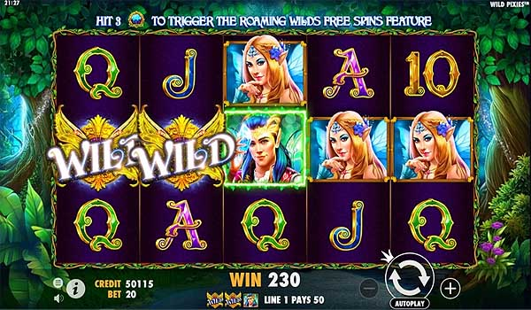 Main Gratis Slot Indonesia - Wild Pixies (Pragmatic Play)