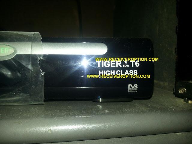 TIGER T6 HD RECEIVER BISS KEY OPTION