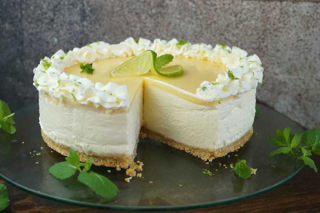Tarta de lima limón