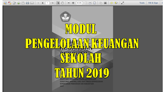 Modul pengelolaan keuangan sekolah 2019