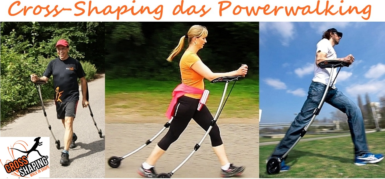 Cross-Shaping - das Powerwalking