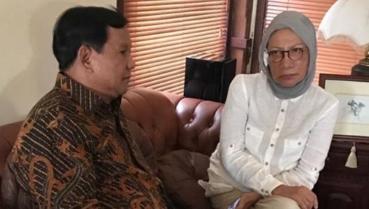 Ratna Sarumpaet Sebut Inisiatif Konferensi Pers dari Prabowo