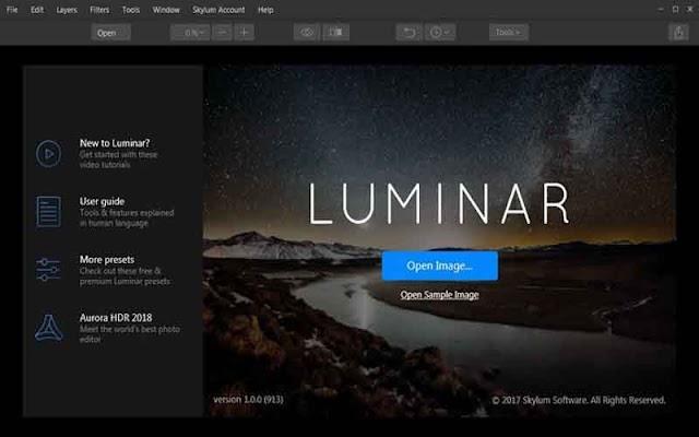 Luminar 3.1.3.3920 F.u.l.l - Phần mềm chỉnh sửa ảnh mạnh mẽ