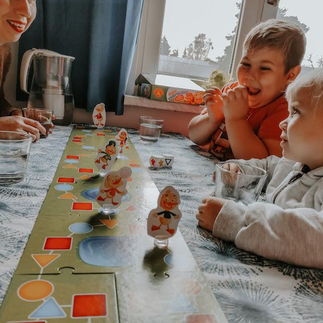 Gra dla całej rodziny Kwaki Rozrabiaki