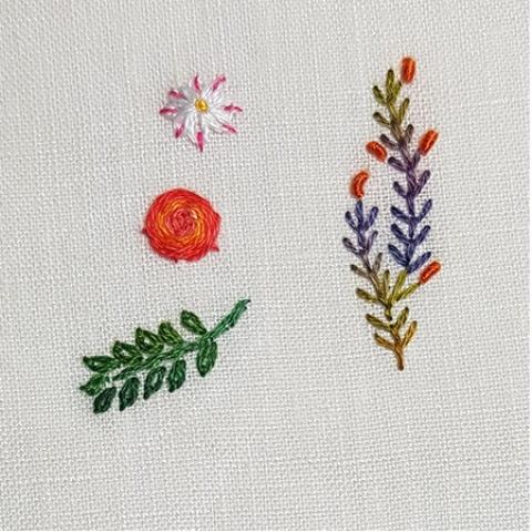 Mẫu thêu hoa nhí đẹp - Hinh 4
