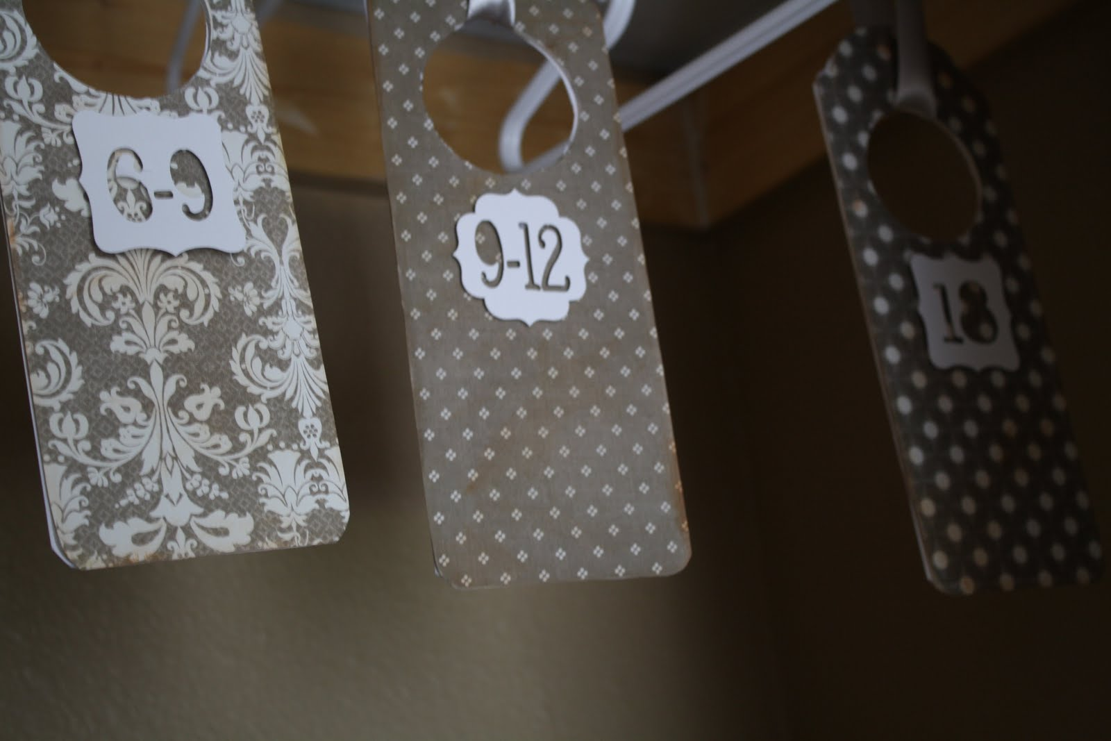 How To Make Baby Clothes Size Dividers