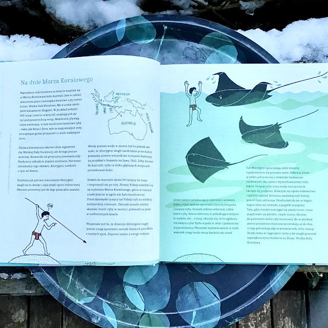 """""""Palmy na biegunie północnym. Wielka opowieść o zmianie klimatu"""" Marc ter Horst, Wendy Panders, Nasza Księgarnia, bardzo ważne non-fiction dla dzieci"""