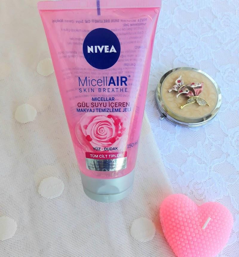 Nivea MicellAIR Skin Breathe Gül Suyu İçeren Makyaj Temizleme Jeli İncelemesi