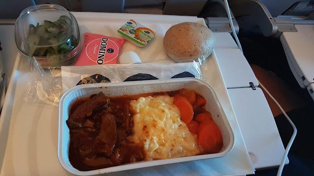 Obiad w Finnairze