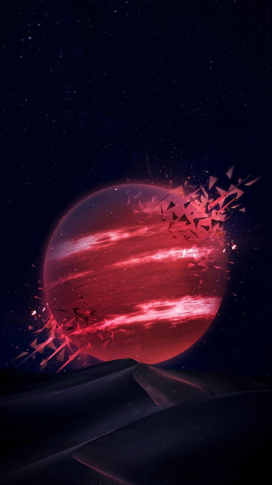 Hành tinh đỏ giữa sa mạc
