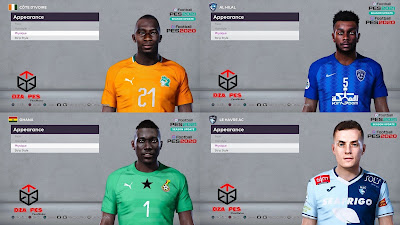 PES 2020 Facepack 4 by Dzayer Pes