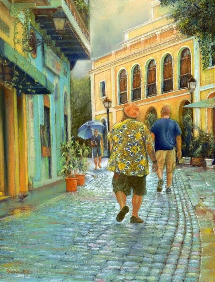 Пастельная живопись. Bob Russin Pastels
