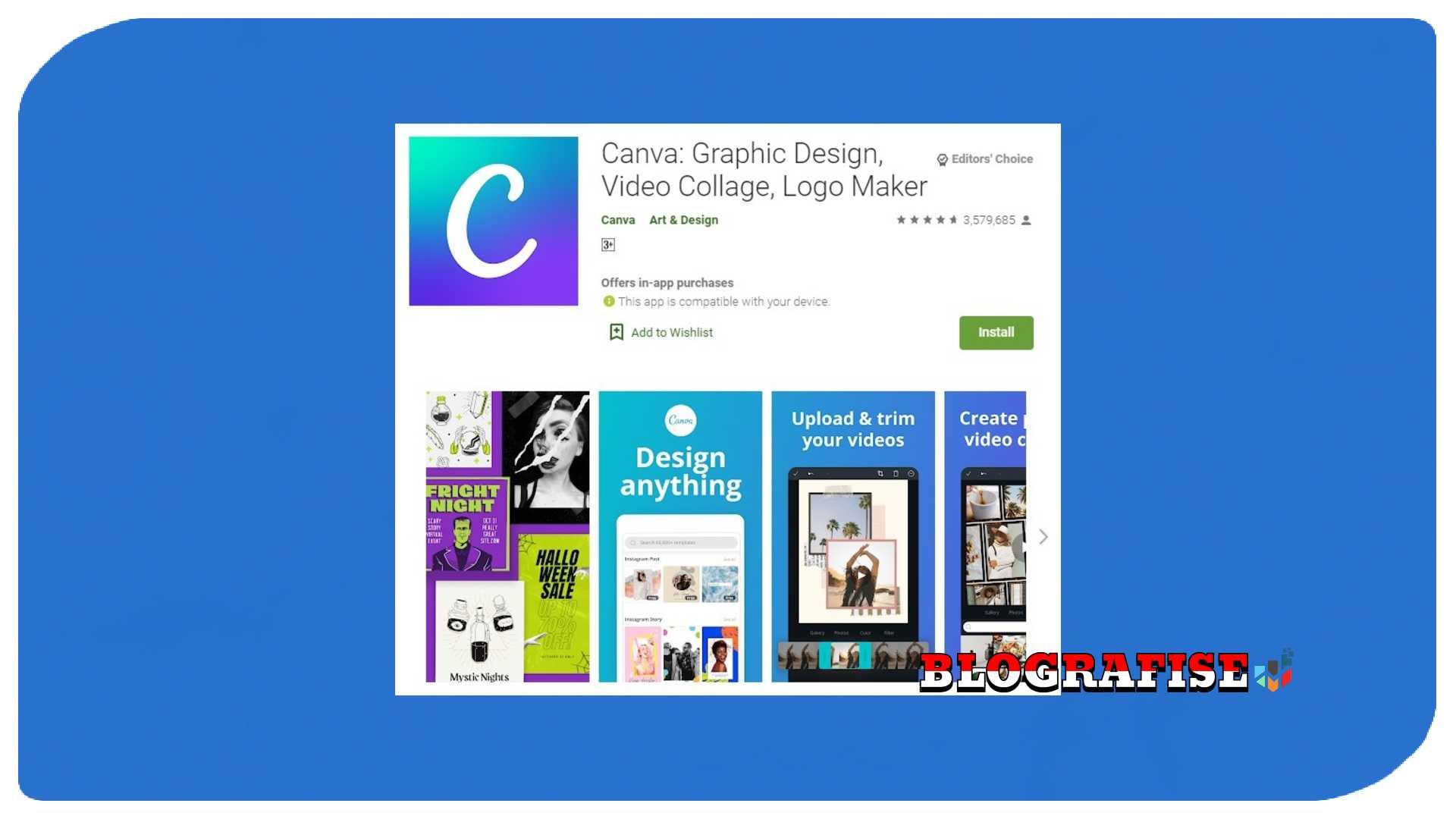 Cara Membuat Poster Digital Di Hp