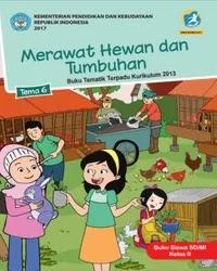 Buku tema 6 Siswa Kelas 2 K13 2017