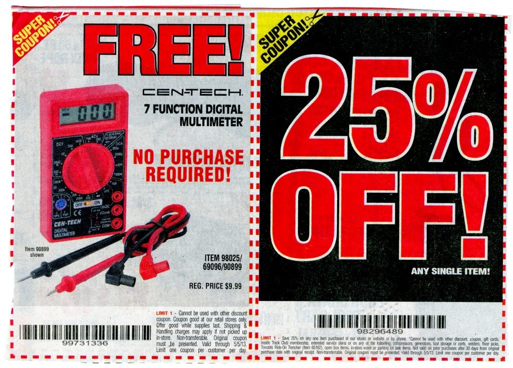 Current Harbor Freight 20 Coupon