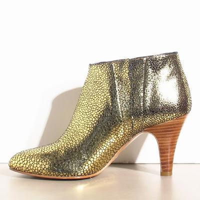 Bottines gold Patricia Blanchet