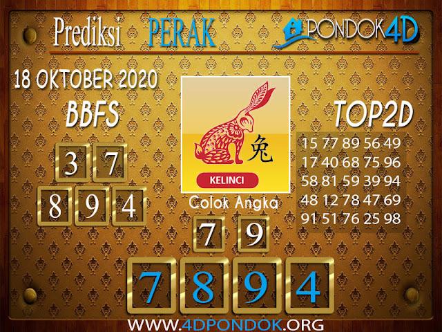 Prediksi Togel PERAK PONDOK4D 18 OKTOBER 2020
