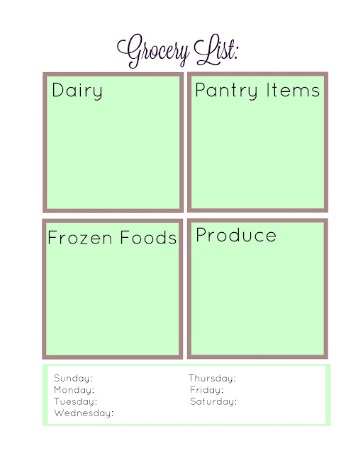 5 free meal planning printables (sweetandsavoryfood.com)