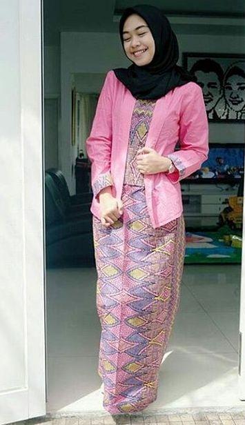 Contoh Baju Batik Modern