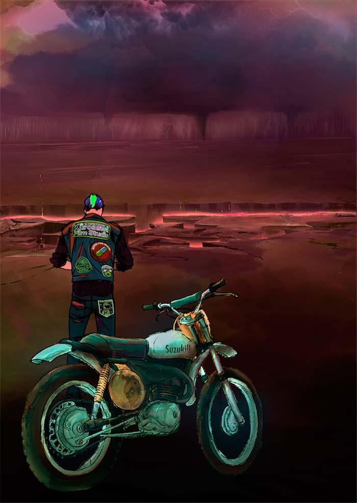 Ilustración de Ezequiel Facci