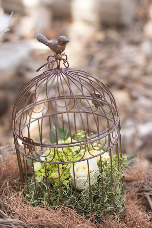 A Nesting Birds Baby Shower for Fall - via BirdsParty.com