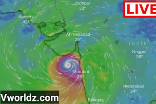 Vavajodu Live Location Map | Gulab Cyclone Live