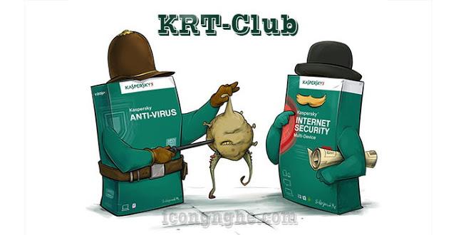 اداة KRT Club لاستعادة الفترة التجريبية لمنتجات كاسبرسكي