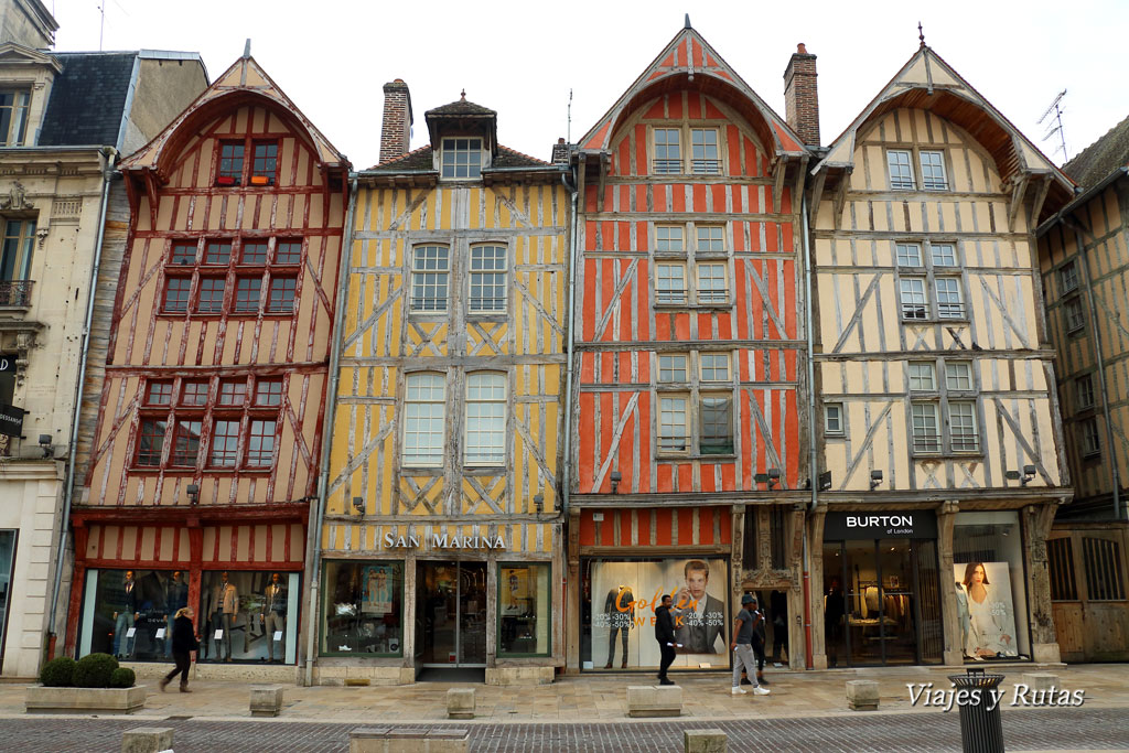 Rue Emile Zola de Troyes