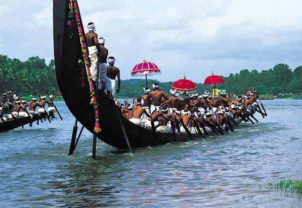 Snake Boat Race, Onam Celebration in Kerala