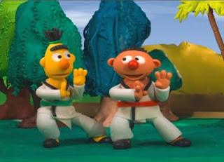 Sesame Street Bert and Ernie's Great Adventures Kung Fu.1
