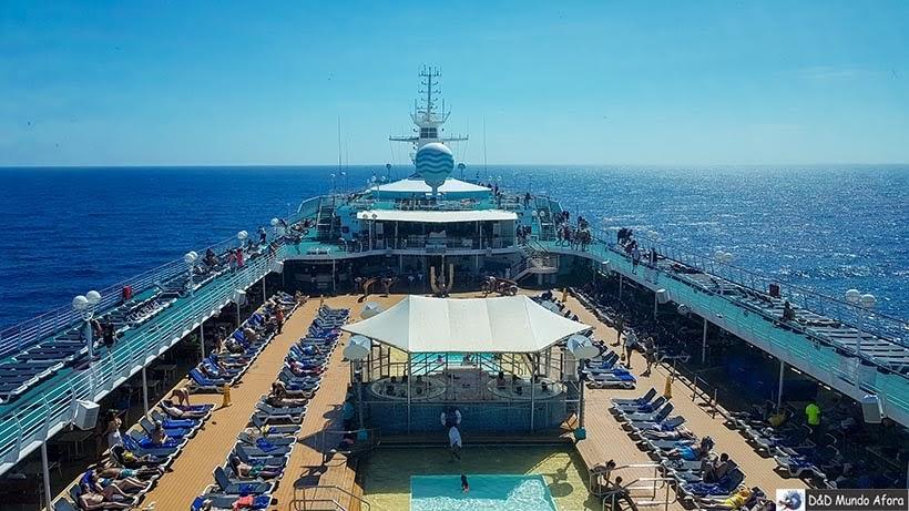 Navio Monarch - Diário de Bordo: cruzeiro pelo Caribe