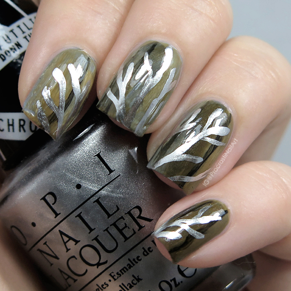 The Digit-al Dozen REDOES Art: Chrome Metalwork Tree Nails