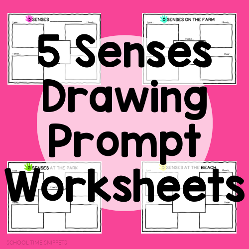 FREE FIVE SENSES WORKSHEETS