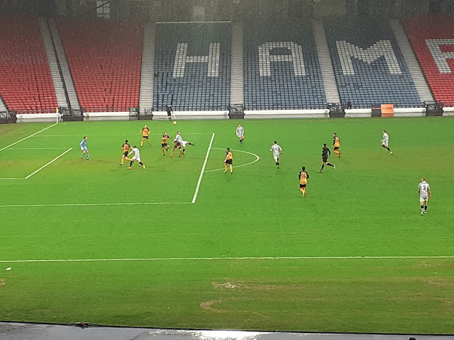 Action from Scottish League Two - Queens Park vs. Annan Athletic