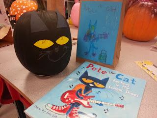 Pumpkin Book Reports- Pete the Cat