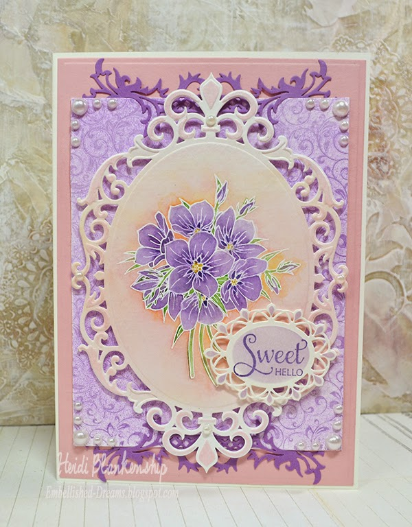 Embellished Dreams Justrite Papercraft October New