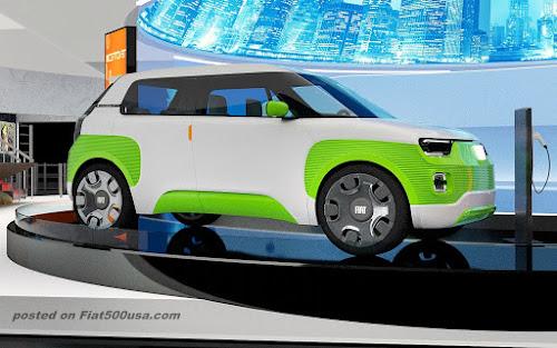 Fiat Centoventi at CES 2020