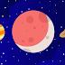 Melihat Planet-planet Selama Gerhana Bulan Parsial