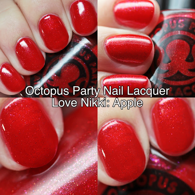 Octopus Party Nail Lacquer Love Nikki: Apple