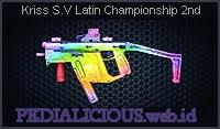 Kriss S.V Latin Championship 2nd