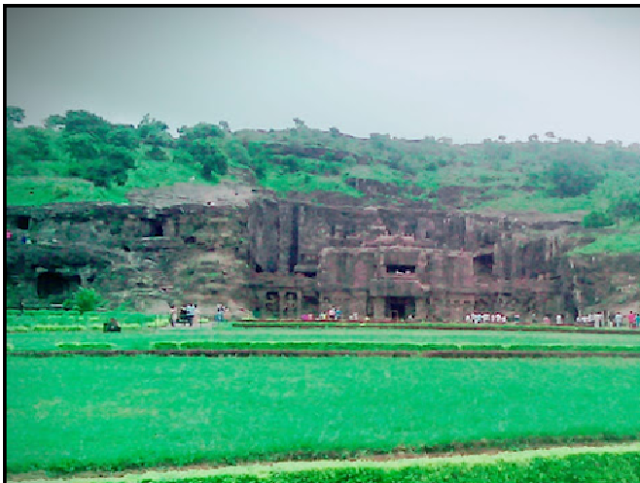 ELLORA CAVES VIEW