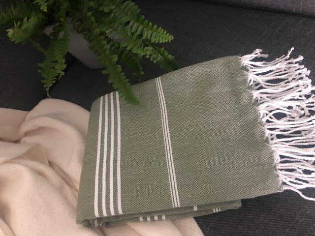 Kaunis hamam-pyyhe